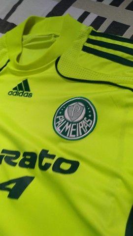 Vendo camisa do Palmeiras 2008/09 Original  - Foto 4