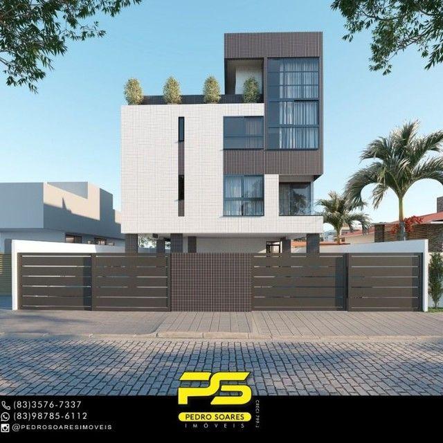 Apartamento com 3 dormitórios à venda, 70 m² por R$ 265.000 - Altiplano Cabo Branco - João - Foto 4