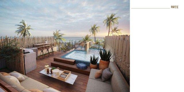 GN- Lançamento beira mar Muro Alto, 2 suítes com rooftop e piscina privativa