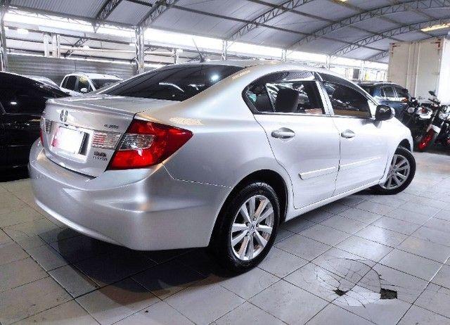 New Civic Lxr 2.0 Flex 2014 (Financia 100%)-Vendo,Troco ou Financio - Foto 8