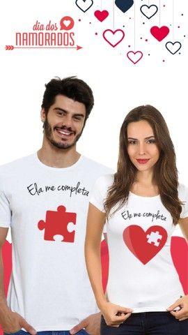 Camisas Personalizadas - Dia dos Namorados - Foto 2