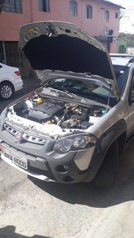 pick-up fiat strada, manual, chave reserva, - Foto 5