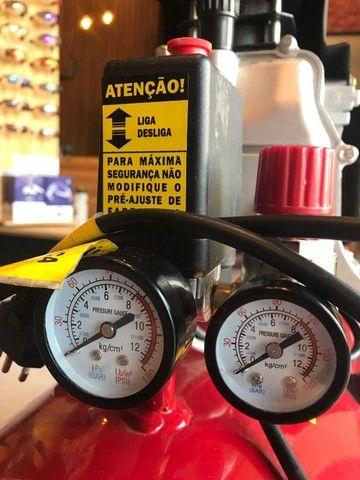 Compressor Motomil 50L - Muito Novo! - Foto 2