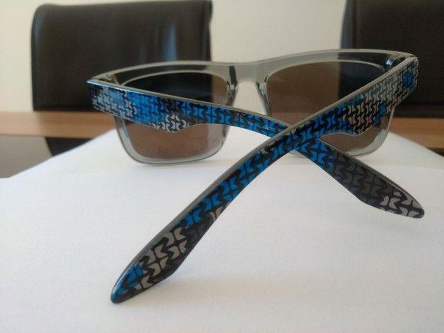 Óculos de Sol marca HB, lente azul espelhado - Foto 3