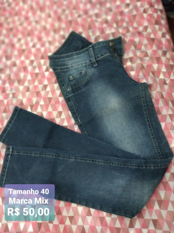 Calças jeans marca mix Promoção  - Foto 5