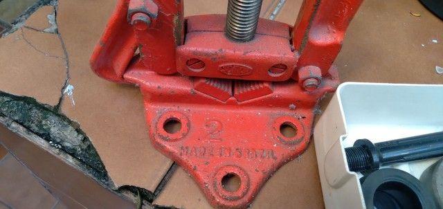 Tarraxa para rosca pvc com torno N 2 - Foto 3