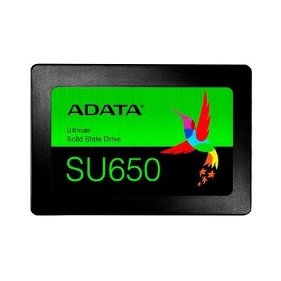 SSD Adata SU650, 240GB, SATA, Leitura 520MB/s, Gravação 450MB/s ou 12X R$ 23,58