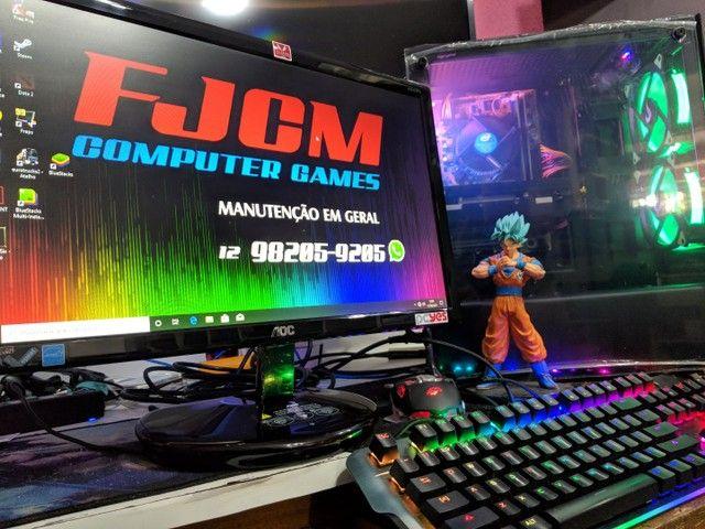 PC GAMER COMPLETO com garantia  FORTINATE  GTA  DOTA 2 etc