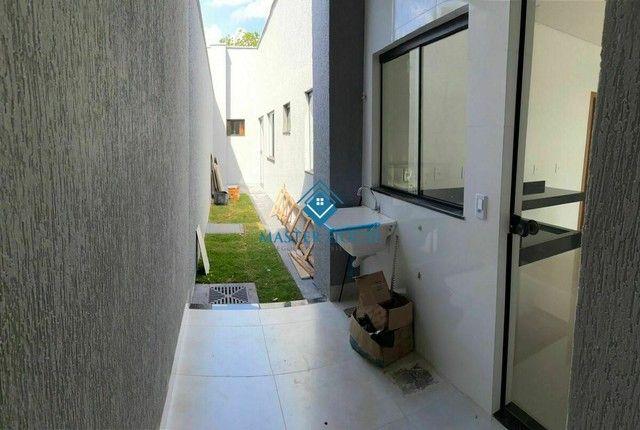 Belíssima Casa Térrea Moderna,Valor R$ 395.000,00, jardim  Mariliza, Goiânia  Há Poucos Mi - Foto 17