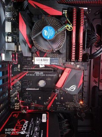 PC Gamer i5 7400 Mobo Strix M2 512Gb 8Gb Ram - Foto 3