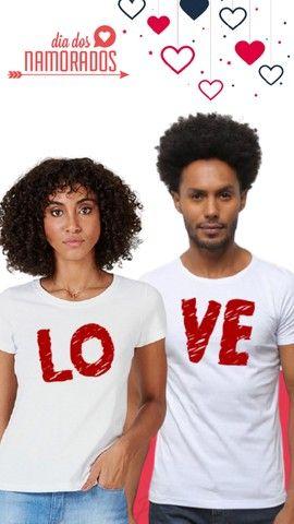 Camisas Personalizadas - Dia dos Namorados