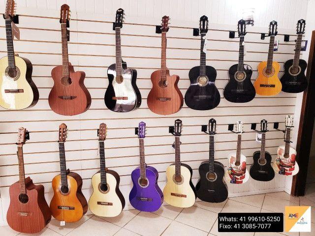 Viola, Violões com cordas de Aço ou Nylon