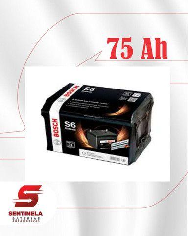 Bateria Bosch 75 Amperes - Entrega e Instalação Gratuitas