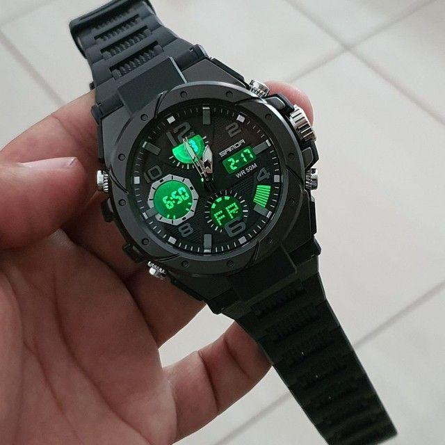 Relógio Sanda Original à Prova D'água  - Foto 4