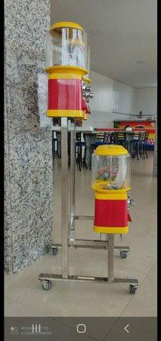35 máquina de bolinha todas novas com rak é pedestal  - Foto 2