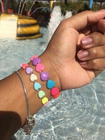 Colares pulseiras e chaveiros de miçangas 10,00 - Foto 6