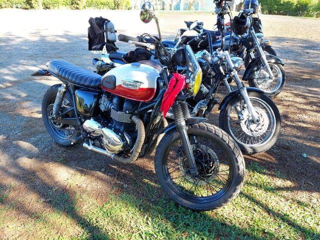 Triumph bonevillee T100 13 mil km - Foto 3
