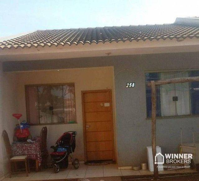 Casa com 2 dormitórios à venda, 57 m² por R$ 50.000,00 - Sao Jorge - Paiçandu/PR
