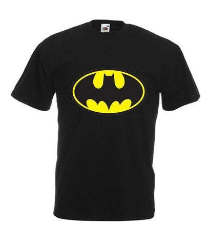 Camisa batman camisa preta