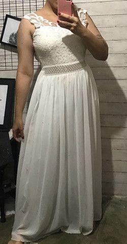 Vestido branco M - Foto 3