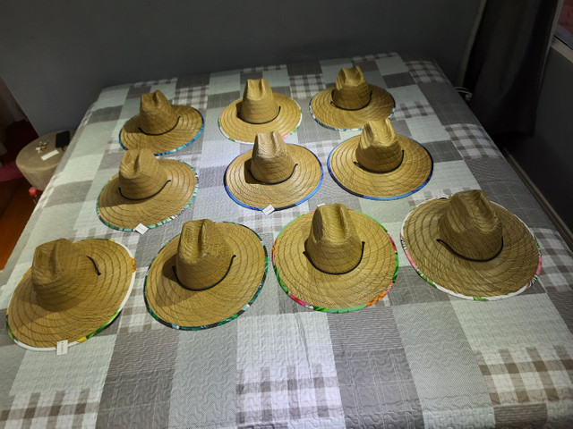 Chapeu com estampa de bambu  - Foto 2