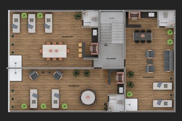 Vendo apartamento com solarium privativo em jaguaribe  - Foto 9
