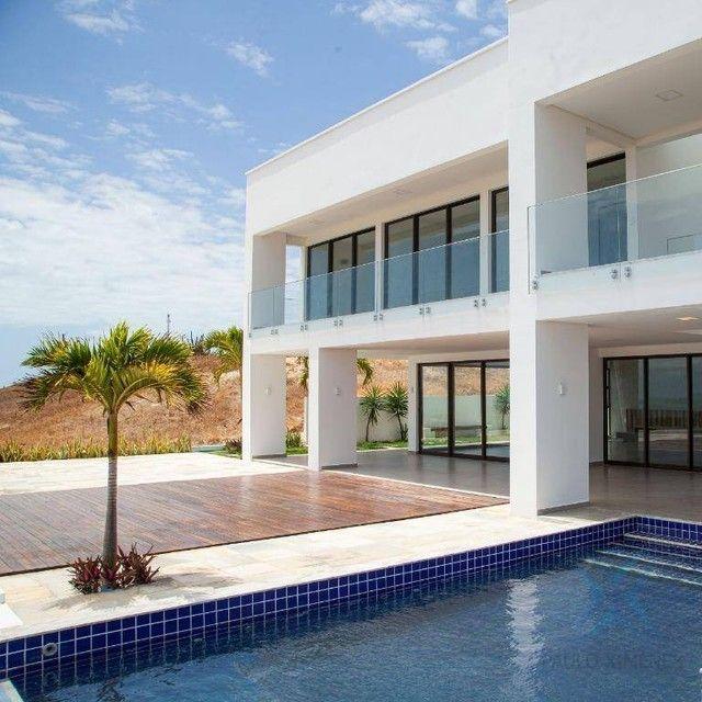 mansão com vista mar no aquiraz riviera com 5 dormitórios à venda, 419 m² por R$ 2.700.000