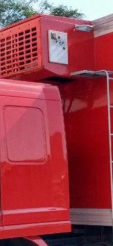 Baú frigorífico 7.50m motor a diesel - Foto 16