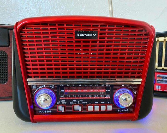 Rádio Retrô Portátil Ferrari Vintage C/ AM e <br>Fm - Foto 2