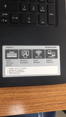 Notebook Acer Aspire 3  - Foto 3