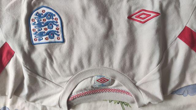 Camisa Inglaterra Umbro M - Foto 2