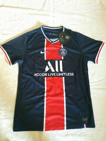 Camisa PSG Home 2021- Masculino - Foto 2
