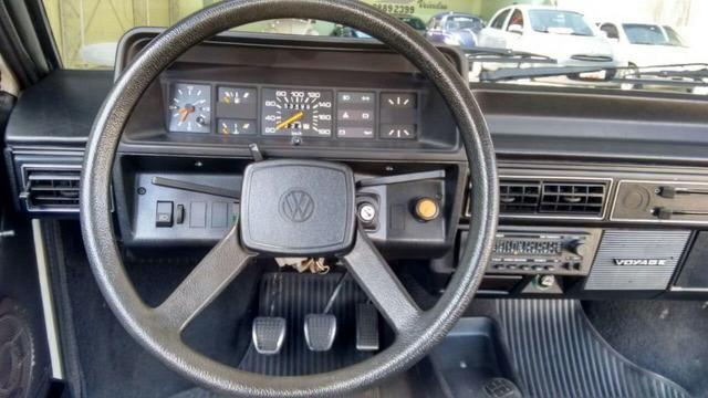 Vw - Volkswagen Voyage LS Placa Preta Original - Foto 11