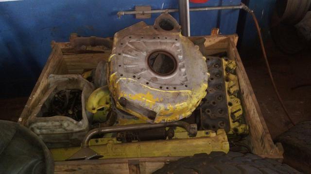 Motor 112 scania parcial - Foto 2