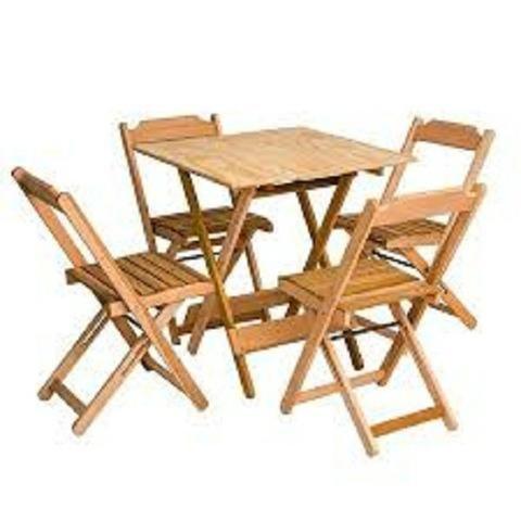 Linha dobrável mesas e cadeiras - Bares e Restaurantes - Foto 5