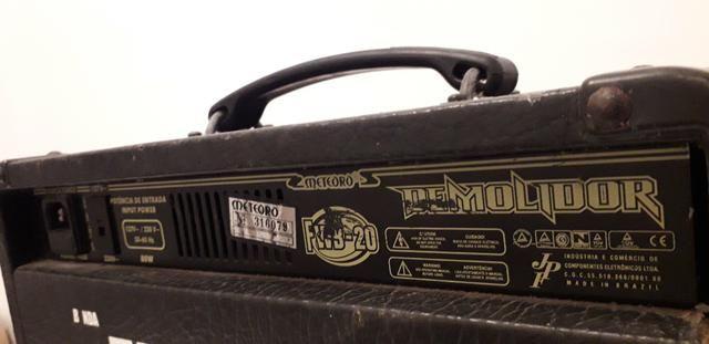 Cubo - Amplificador Baixo Meteoro FWB-20 Demolidor, 20W RMS - Bivolt Manual