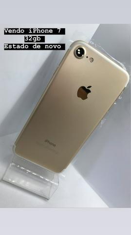 Iphone 7 gold 32 gb zerado!!