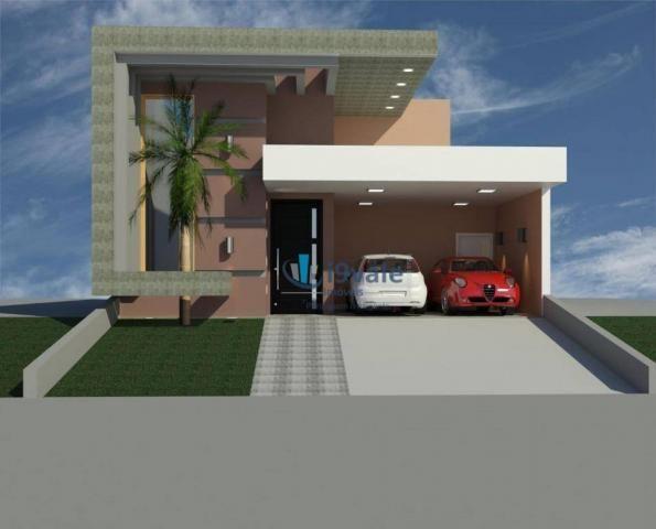Casa com 3 dormitórios à venda, 160 m² - villa branca - jacareí/sp