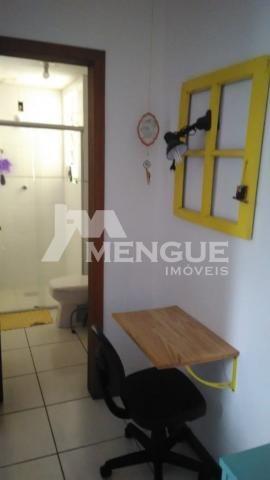 Apartamento à venda com 1 dormitórios em São sebastião, Porto alegre cod:8245 - Foto 4