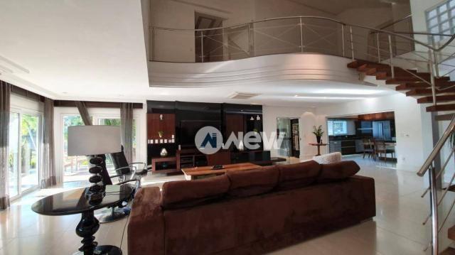Casa com 4 dormitórios à venda, 506 m² por r$ 2.300.000,00 - lomba grande - novo hamburgo/ - Foto 18
