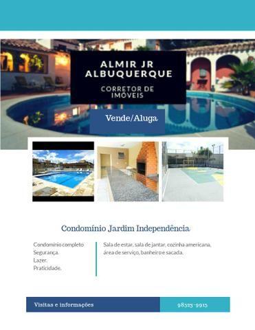 Transferência de Ap 2 ou 3/4 no Condomínio Jardim independência