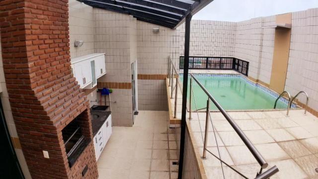 Vendo angai 212 m² cobertura duplex 1 piscina 4 suítes 2 lavabos 5 wcs dce 3 vagas r$ 980. - Foto 18
