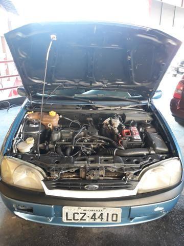 Fiesta 1.0 Zetec Ano 2000 Completo IPVA PAGO - Foto 9