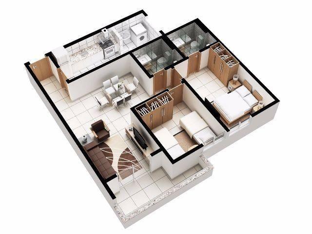 Apartamento novo. Melhor custo benefício da cidade - Foto 13