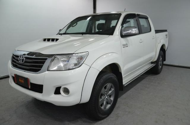 Toyota Hilux Cab. Dupla SRV 4X4 Diesel Automatica.2014.(Negociamos) Temos Strada, S10,