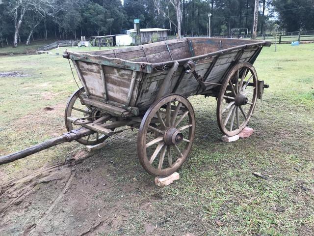 Carroças antiga - Foto 2