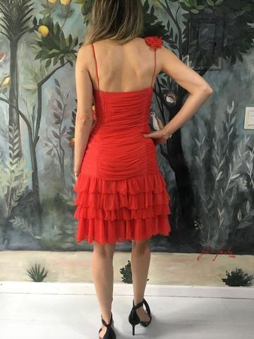 Vestido festa vermelho - Foto 3