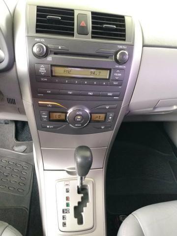 Corolla 1.8 xei 2009 flex unico dono - Foto 5