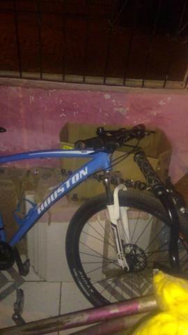 Bicicleta Houston aro 29 usada - Foto 3