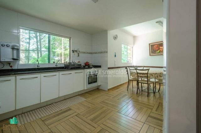 Casa com 5 suítes em condomínio. aceita permuta por apartamento. linda vista para um vale  - Foto 10